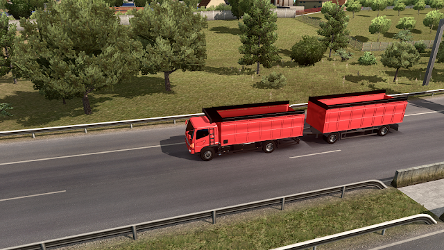 Download Mod Traffic Gandeng HINO ETS2