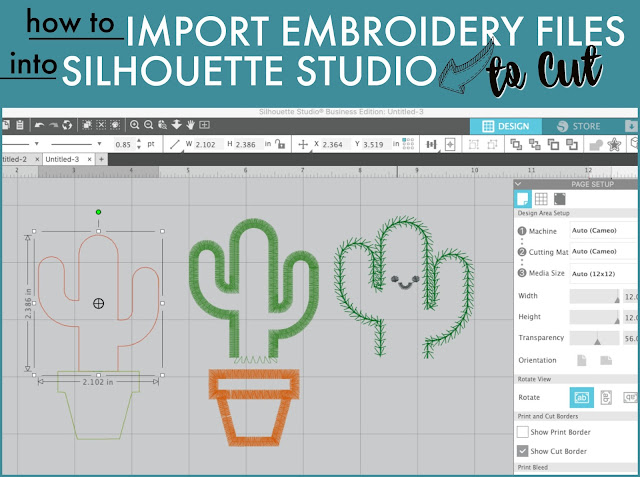 Silhouette 101, Silhouette America Blog, Applique, Embroidery, Designer Edition Plus