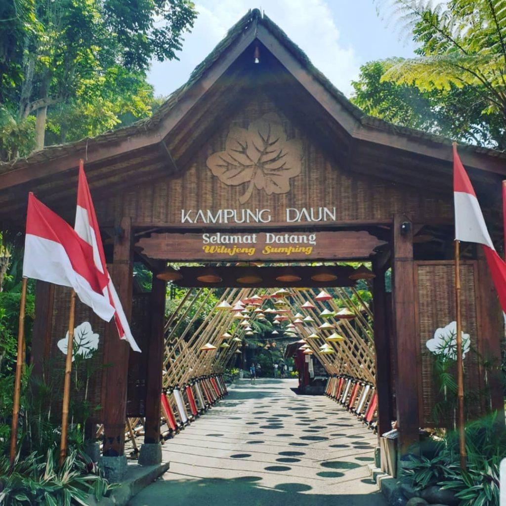 Kampung Daun Bandung, Wisata Asri Khas Desa Penghilang Kepenatan Kota
