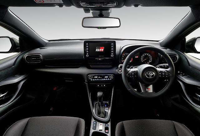 Toyota Yaris GR-RS: motor 1.5 turbo de 120 cv e câmbio CVT
