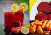Beetroot and Carrot juice for Allergy