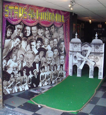 Crazy Golf at The Windmill Theatre in Great Yarmouth