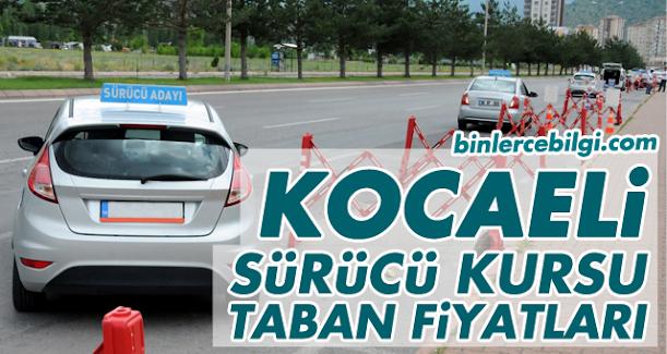 Kocaeli Sürücü Kursu Fiyatları 2021, Kocaeli'de sürücü kursları tarafından uygulanan ehliyet taban fiyat listesi.
