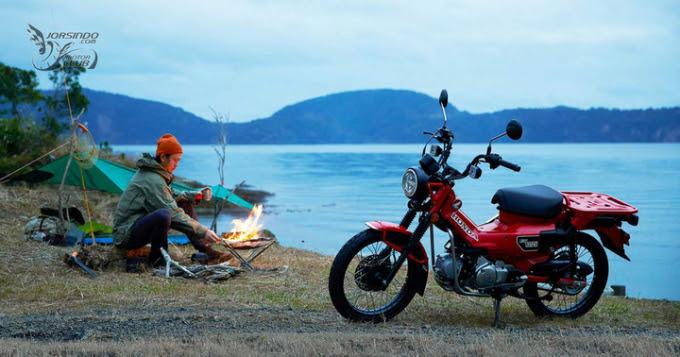 Honda Trail CT125 : Bebek Offroad untuk diajak ber-Adventure ria!