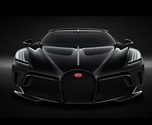 design Bugatti La Voiture Noire
