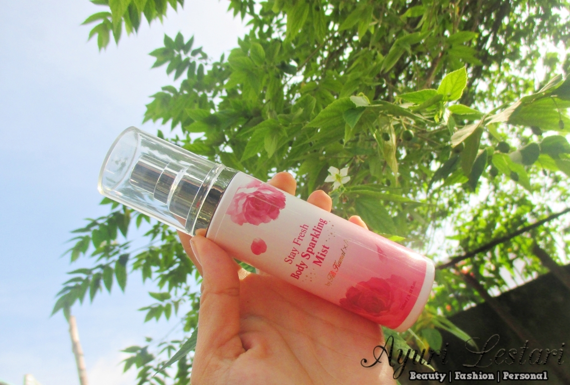 Althea X Titi Kamal Stay Fresh Body Sparkling Mist Review