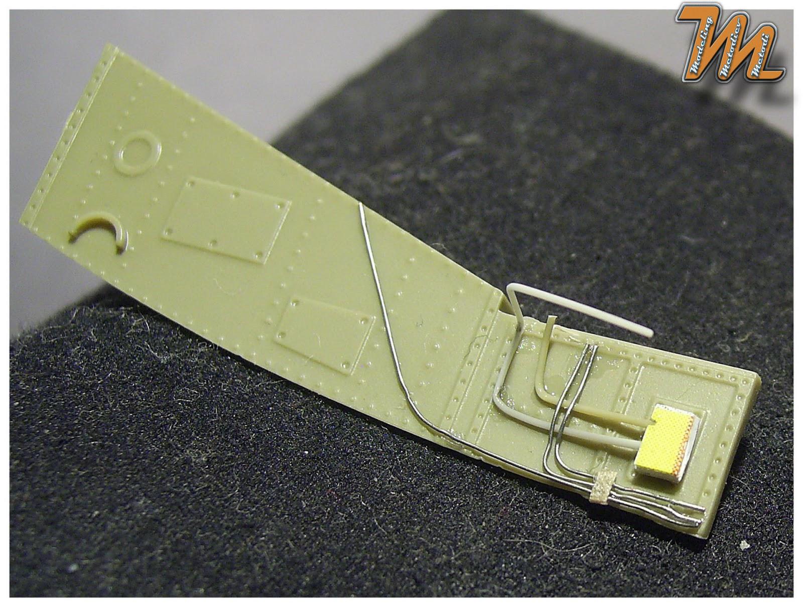 nose wheel well Bell P-39Q Airacobra, USAF, Eduard 1:48