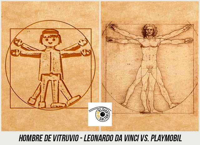 Dibujo-Hombre-de-Vitruvio-de-Leonardo-Da-Vinci-Hecho-con-Playmobil