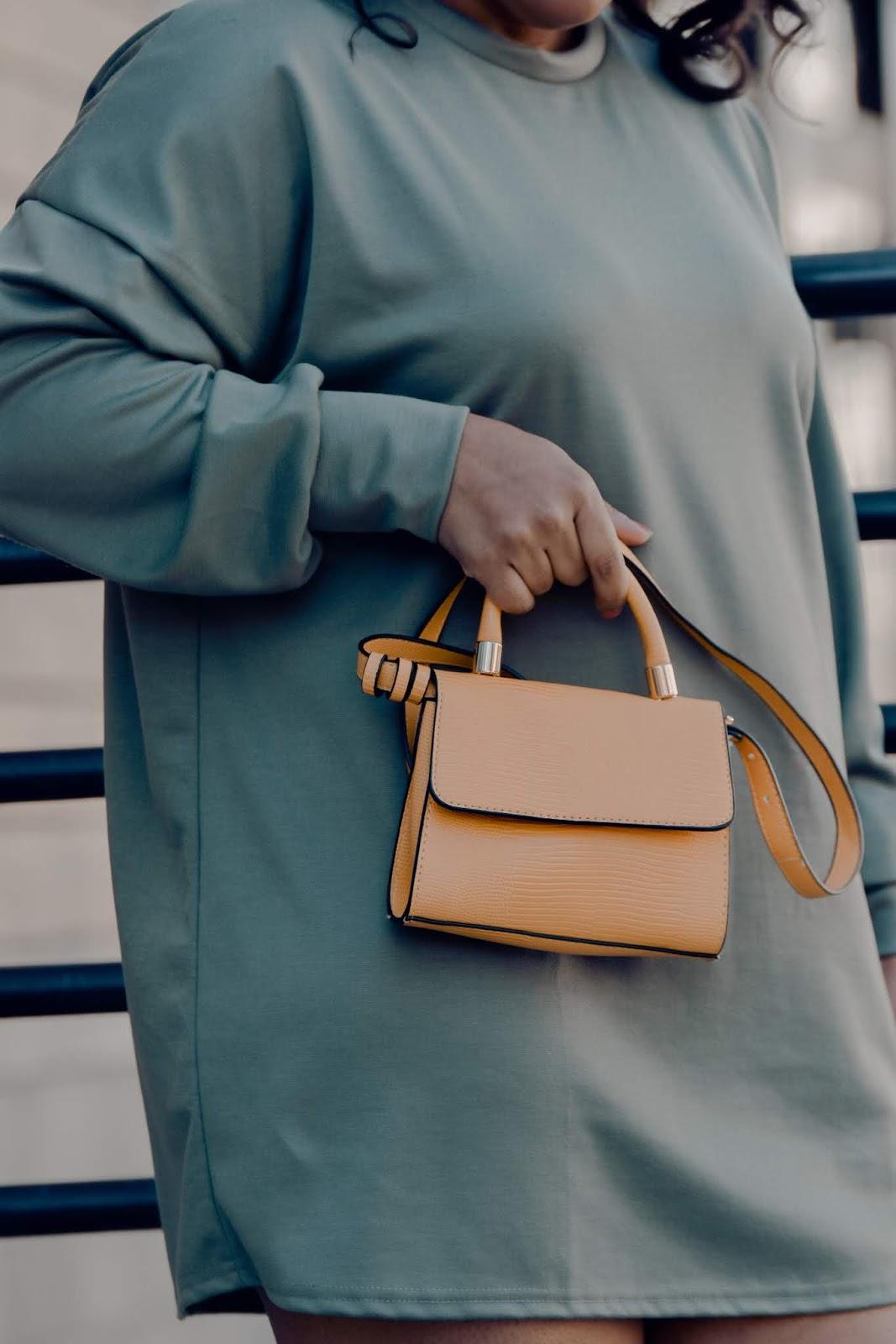 shein, shein reviews, pattys kloset, spring bags, micro bags, mini bags, small spring bags, pantone color yellow, mustard handbag