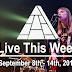 Live This Week: September 8th - 14th, 2019