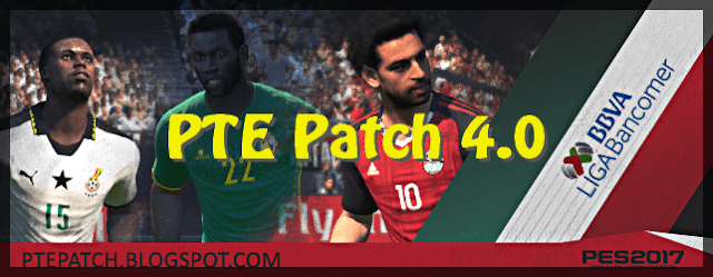 Download PES 2017 PTE Patch 4.0