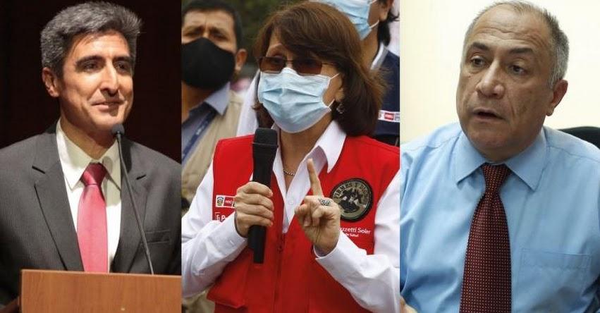 Pilar Mazzetti, Alejandro Neyra y Javier Palacios vuelven al Ministerio de Salud, Cultura y Trabajo