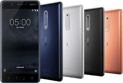 Nokia 5 Smartphone Specifications & Price