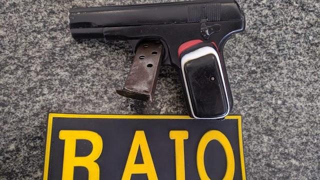 Pistola é encontrada com criança de 10 anos em Iguatu