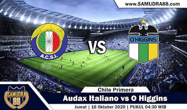 Prediksi Bola Terpercaya Audax Italiano vs O Higgins 16 September 2020