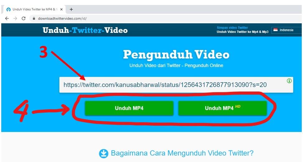 Cara Download Video Di Twitter Untuk Pc Hp 100 Works Pakar Dokumen