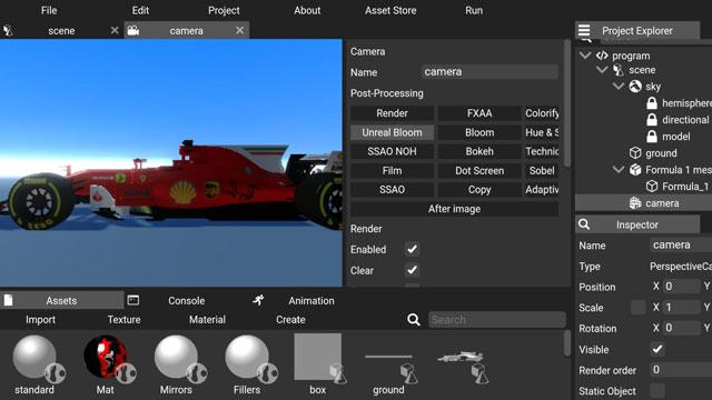 تحميل تطبيق ForEngine apk للاندرويد لصناعة الالعاب