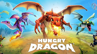لعبة Hungry Dragon مهكرة للاندرويد برابط مباشر