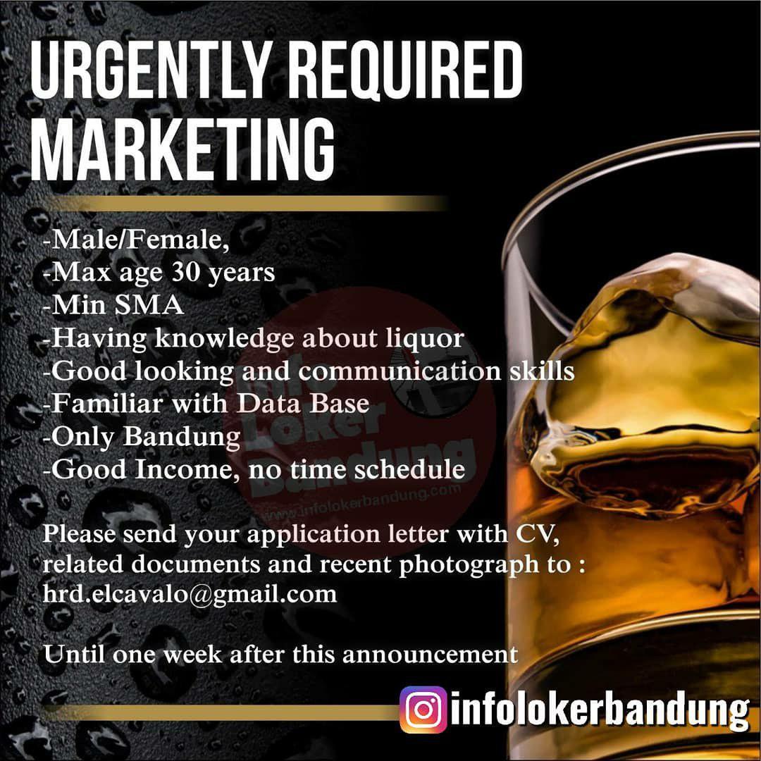 Lowongan Kerja Marketing Elcavalo Group Bandung Oktober 2019