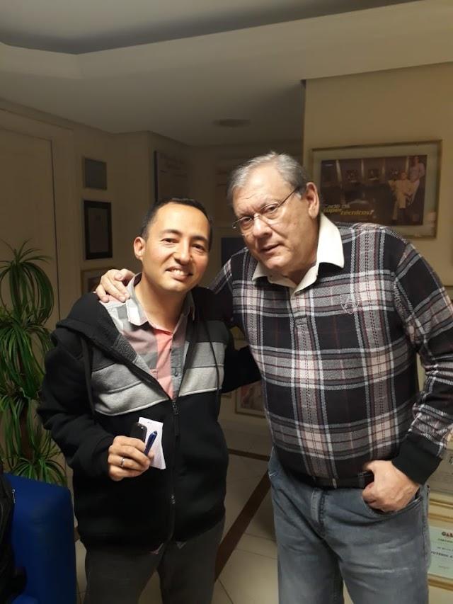 Milton Neves lembra carreira multimídia
