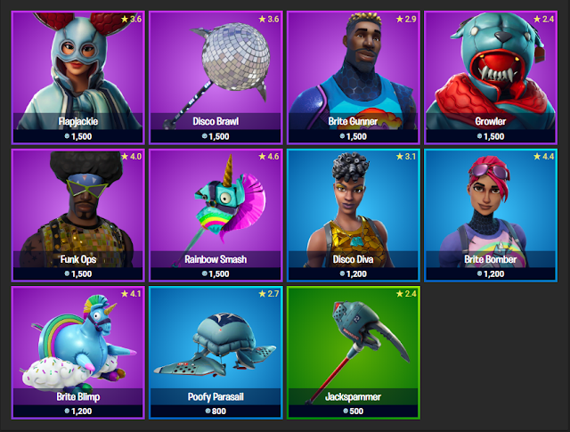 Fortnite Item Shop November 18, 2019