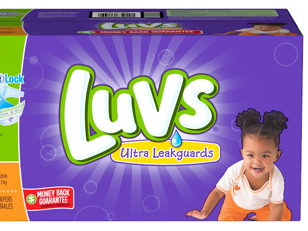 Save on Luvs and a $100 Amex Gift Card Giveaway