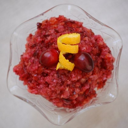 Gingered Cranberry Relish
