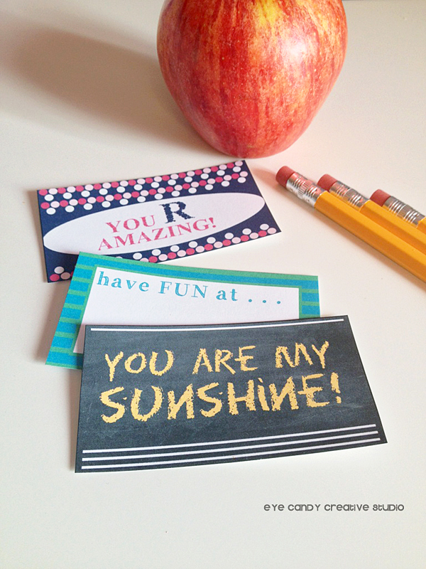 you r amazing, have fun at, you are my sunshine, kids lunchbox notes