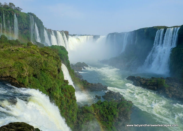 Devil's Throat in Iguazu Falls