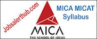 MICA MICAT Syllabus