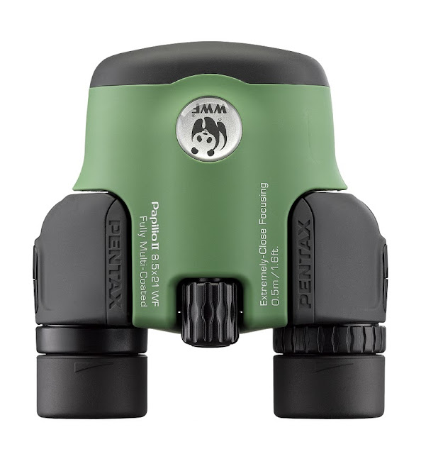 Pentax Papilio 8.5x21 WF binoculars