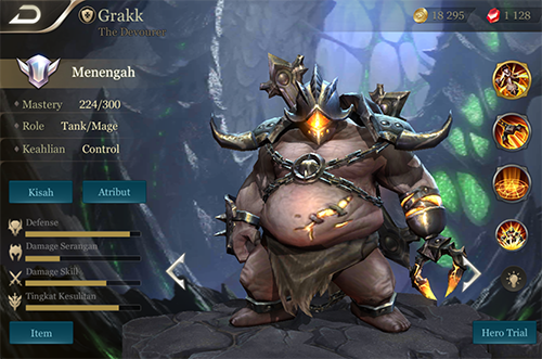 Grakk sẽ là một trợ thủ đắc lực cho cả vị trí Rừng nữa đấy!