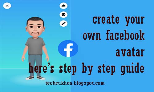 My method on how to create your own facebook avatar?