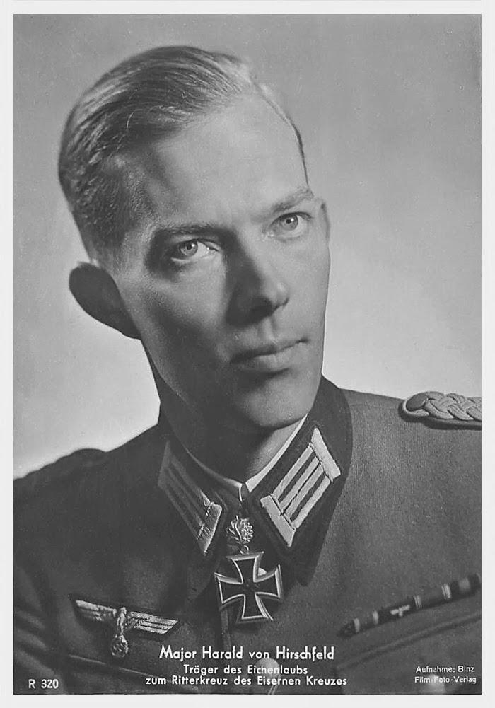 Harald von Hirschfeld Ritterkreuzträger Knight Cross Holder Postcard