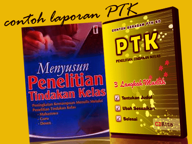 Contoh Laporan PTK Matematika dan Bahasa Indonesia Format Words