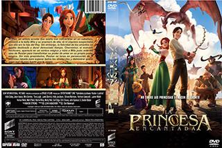 The Stolen Princess - La Princesa Encantada - Cover - DVD