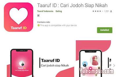 taaruf id aplikasi jodoh islam siap nikah