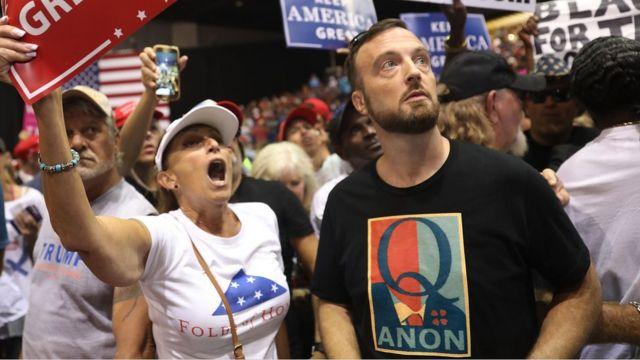 Grupo Qanon Pro-Trump