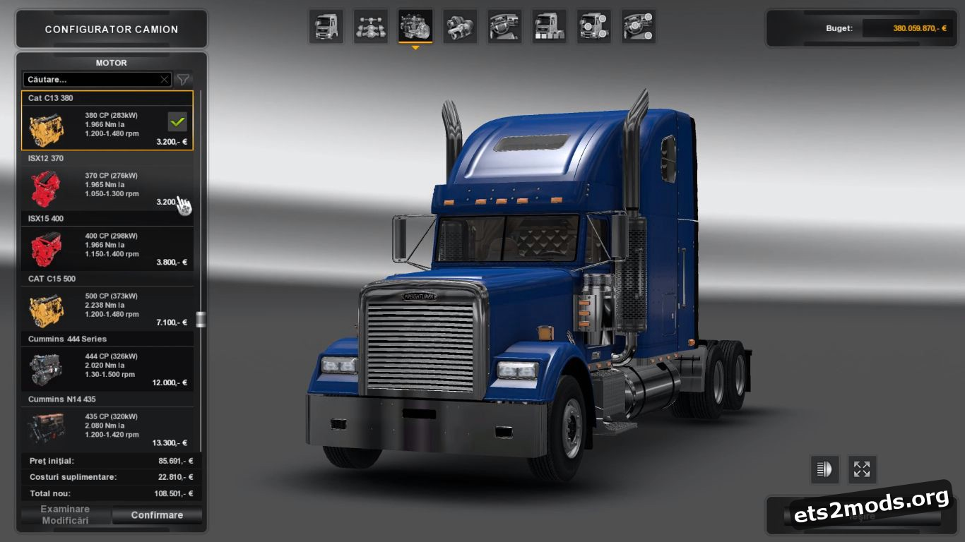 Freightliner Classic XL v 2.1 [1.25-1.26]