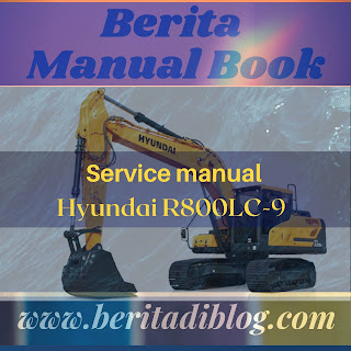 Service manual Hyundai R800LC-9