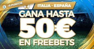 Paston promo Italia vs España Euro2020 6-7-2021