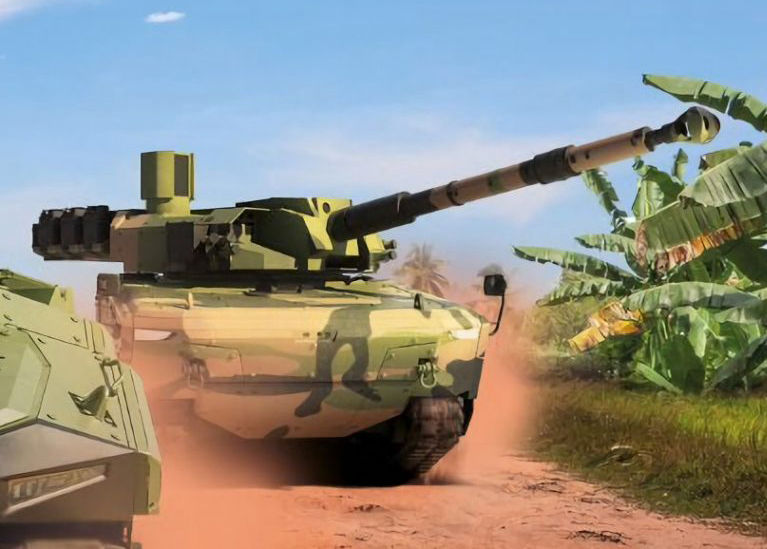 Konsep Tank Medium Pindad