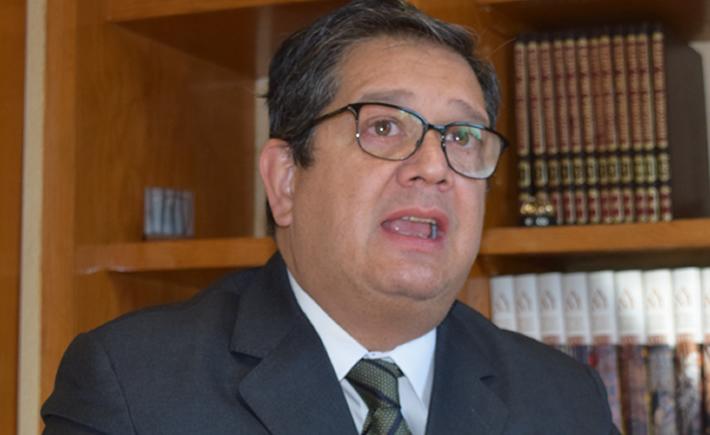 Óscar Albín Santos, presidente Ejecutivo de la Industria Nacional de Autopartes (INA) dijo que la industria automotriz puede ser un ejemplo para que otras industrias regresen a sus actividades. (Foto:Vanguardia Industrial)