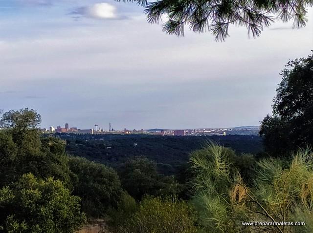 miradores monte de El Pardo en Madrid