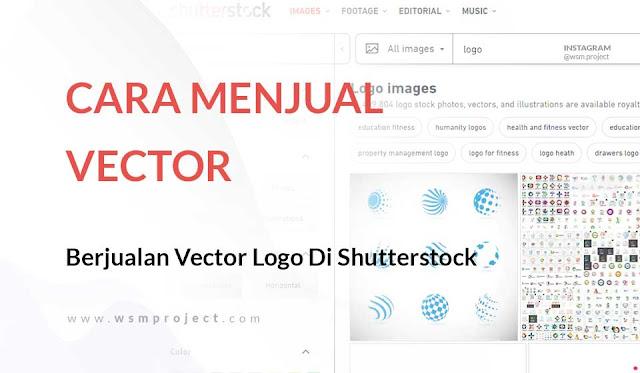 Menghasilkan Dollar dengan berjualan Logo di Shutterstock