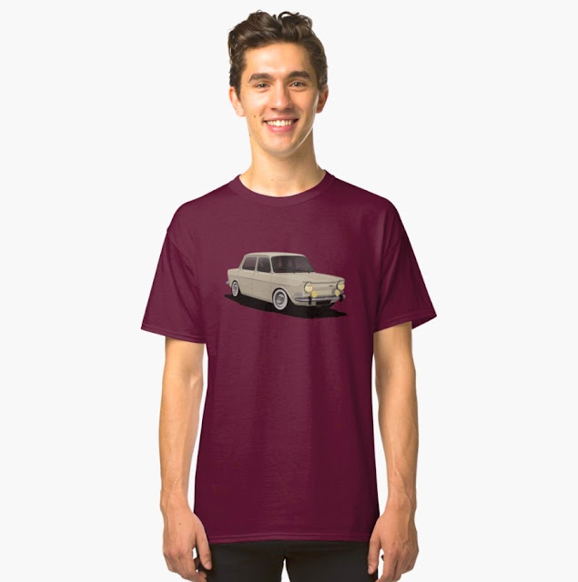 Simca 900/1000 Special classic car T-shirt