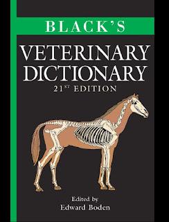Black's Veterinary Dictionary 21th Edition