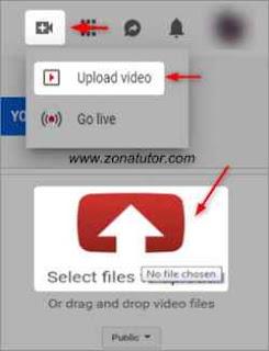 Cara Upload Video Ke Youtube Lewat Pc Komputer Dan Laptop
