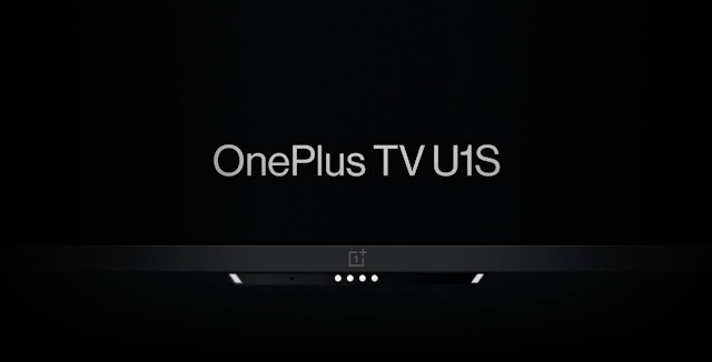 """OnePlus TV U1S launched - comes in 65"""", 55"""", and 50"""" Sizes and price starts from Rs. 39,999 