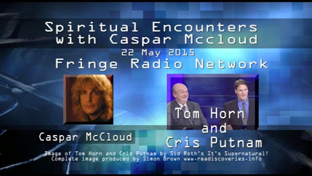 Spiritual Encounters By Caspar McCloud with Cris Putnam and Tom Horn.